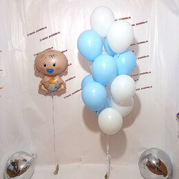 Украшения и бутафория - Воздушные шарики для мальчика, 0