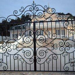 Заборы, ворота и элементы - Кованые ворота - изготовление и установка, 0