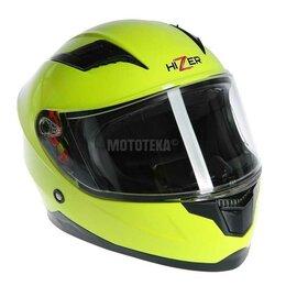 Мотоэкипировка - Шлем мото HIZER (Хайзер) 109 (S) #1 детский, 0