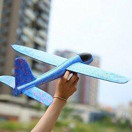 Развивающие игрушки - Самолет планер метательный 48см, 0