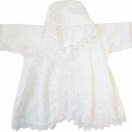 Крестильная одежда - Крестильная рубашка с капюшоном Папитто (размер 20-22, рост 62-68 см), 0