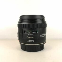 Объективы - Canon EF 28mm f/2.8 IS USM (A342), 0