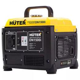 Электрогенераторы - Инверторный генератор DN1500i HUTER , 0