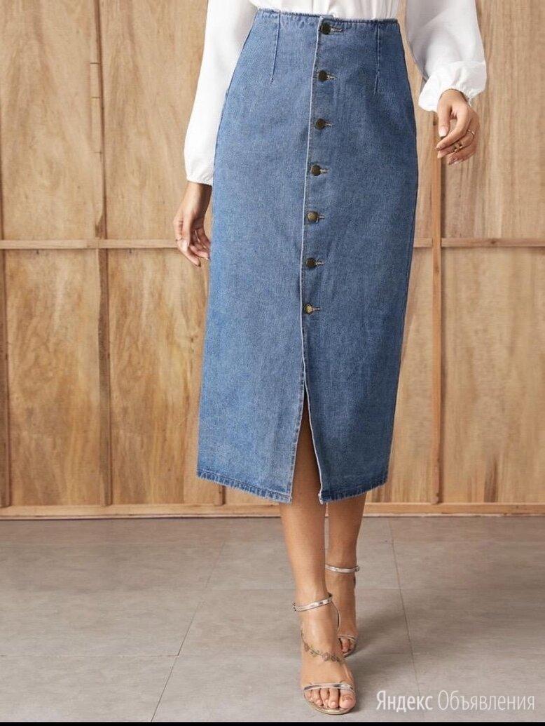 Новая джинсовая юбка SHEIN размер S-M по цене 1200₽ - Юбки, фото 0