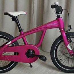 Велосипеды - Mercedes Kidsbike Pink, 0