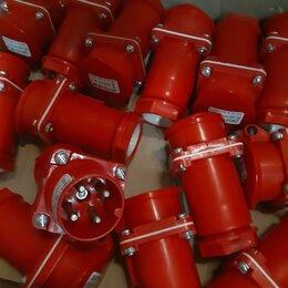 Электроустановочные изделия - Вилки и розетки 4-х контактные, 0