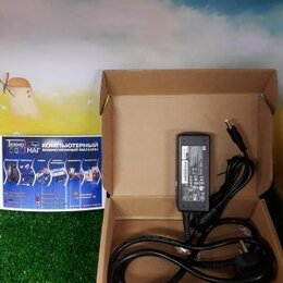 Аксессуары и запчасти для ноутбуков - Оригинальное зарядное устройство для ноутбука HP 4.0х1.7mm (гарантия: 6 мес.), 0