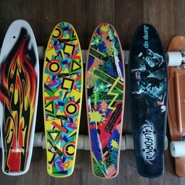 Скейтборды и лонгборды - Пениборды новые, 0