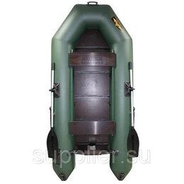 Моторные лодки и катера - Лодка Муссон 2800 СК Light, габариты: 2800*1300 мм. под мотор: до 6 л.с. Зеленая, 0