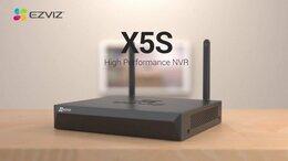 Видеорегистраторы - Wi-Fi видеорегистратор с кодеком Н.265 Ezviz X5S, 0