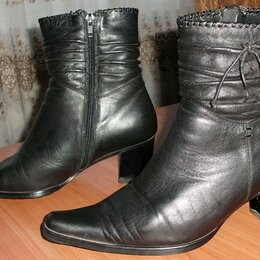 Ботинки - Ботинки женские зимние мех натуральная кожа MOLKA - р.40 ст.26 см, 0