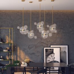 Люстры и потолочные светильники - Люстра odeon light bubbles , 0