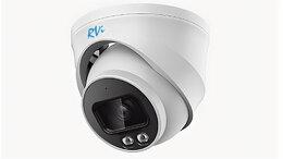 Камеры видеонаблюдения - Сетевая купольная камера RVi-1NCEL2266 (2.8) white, 0