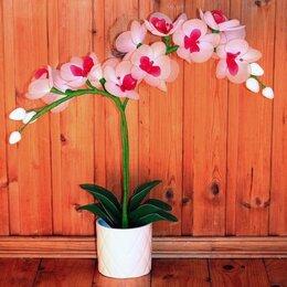 Цветы, букеты, композиции - Цветы из капрона «Орхидея», 0