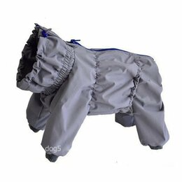 Одежда и обувь - дождевик для собаки закрытый живот для мальчика, 0