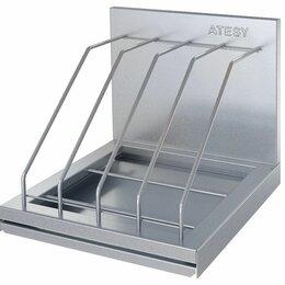 Дизайн, изготовление и реставрация товаров - Полка кухонная для досок ПКД-С-300.350-4-02-В, 300х350х290 мм, Атеси, 0