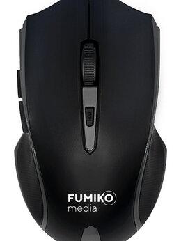 Мыши - Мышь беспроводная FUMIKO WM02 темно-серая, 0