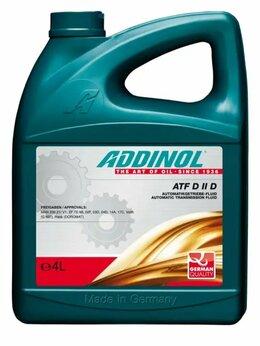 Масла, технические жидкости и химия - Масло ADDINOL, 0