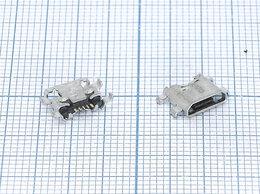 Зарядные устройства и адаптеры - Разъем Micro USB для Huawei Ascend P7 G8, 0