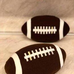 Мягкие игрушки - Мягкая игрушка мяч для регби Икеа, 0