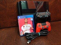 Игровые приставки - Приставка Sony Playstation 4 500gb 2 джойстика игр, 0