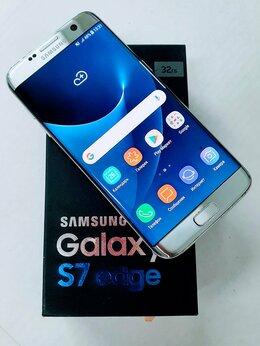 Мобильные телефоны - Смартфон Samsung Galaxy S7 Edge 4GB 32GB Silver…, 0