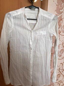 Блузки и кофточки - Рубашка белая женская, 0