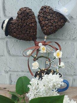 Подарочные наборы - Сердце из кофейных зёрен, 0