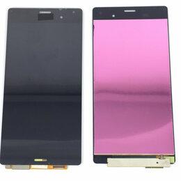 Дисплеи и тачскрины - Дисплей для Sony Xperia Z3 D6603/D6633 AAA черный, 0