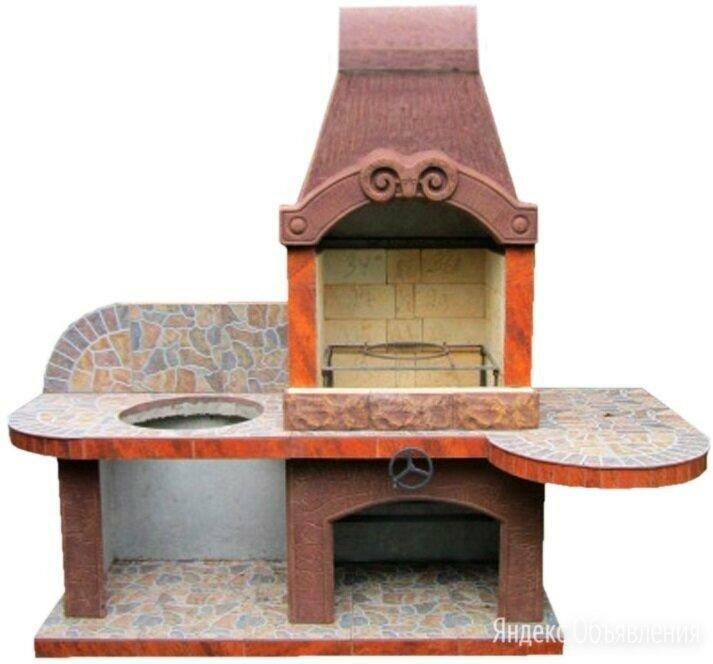 Печь барбекю с казаном Феликс по цене 80990₽ - Грили, мангалы, коптильни, фото 0