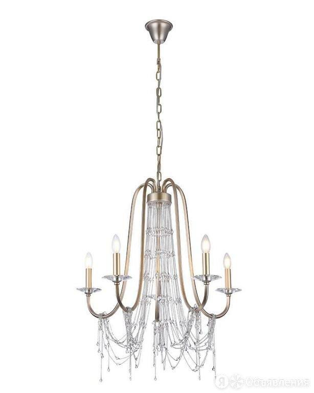 Подвесная люстра Lumien Hall Вилмар 2027/5H-SRGD по цене 24630₽ - Люстры и потолочные светильники, фото 0