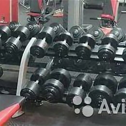 Аксессуары для силовых тренировок - Гантельный ряд, гантели 236кг. Произв-во и др.вес, 0