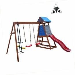 Игровые и спортивные комплексы и горки - Детский деревянный городок, 0