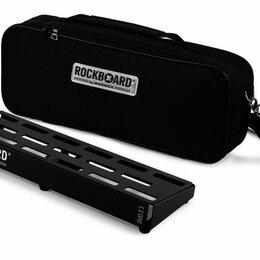 Скейтборды и лонгборды - Rockboard RBO B 2.1 DUO B Педалборд 460 х 146 мм с мягким кейсом, 0