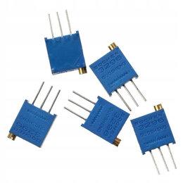 Радиодетали и электронные компоненты - 3296W-102, 1 кОм, Резистор подстроечный, 0