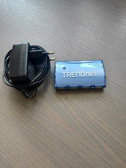 USB-концентраторы - usb хаб Trendnet TU2-700, 0
