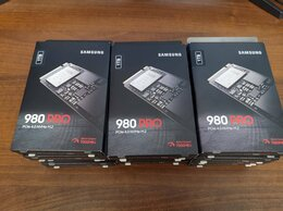 Внешние жесткие диски и SSD - 1TB Samsung 980 PRO M.2 NVMe SSD (Новые), 0