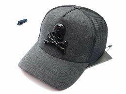 Головные уборы - Бейсболка кепка Phillipp Plein Skull сетка (серый), 0