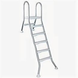 Лестницы и поручни - Лестница для сборного бассейна Kripsol SEMIELEVATED 5+1 ст., 0