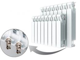 Радиаторы - Rifar Monolit Ventil МVR 350 10 секций, 0