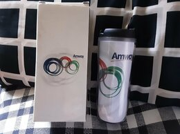 Термосы и термокружки - Термостакан Амвей 400 ml, 0
