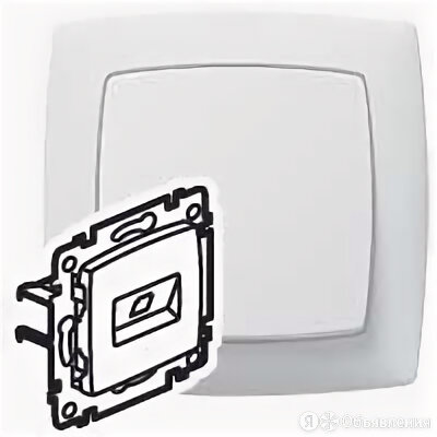 Розетки Suno Legrand 774072 Роз. 1м RJ45 (бел) (SUNO) (Legrand) по цене 288₽ - Электрические щиты и комплектующие, фото 0