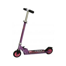 Самокаты - Детский городской самокат Foxx 125EP фиолетовый, 0