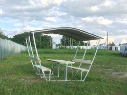 Комплекты садовой мебели - Продам беседки дачные со столиком и лавочками , 0