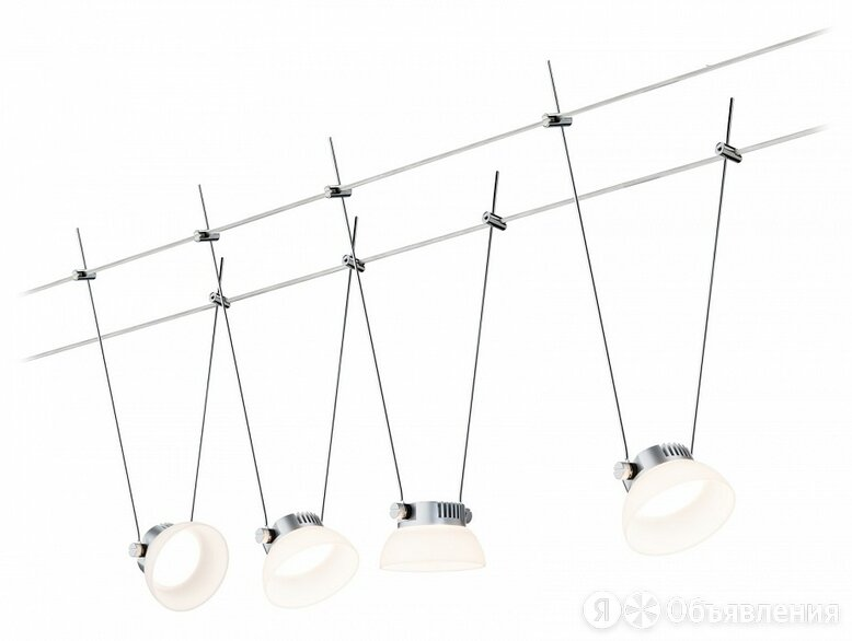Подвесной светильник Paulmann Set IceLED 50016 по цене 30390₽ - Люстры и потолочные светильники, фото 0