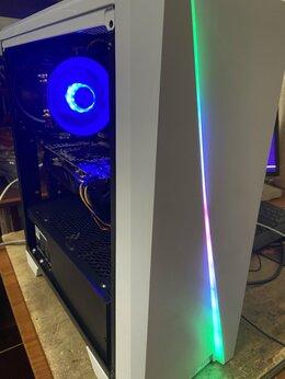 Настольные компьютеры -  Игровой i5, 1150, 16gb, SSD+HDD, 700W, RX 580, 0
