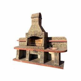 Грили, мангалы, коптильни - Печь барбекю №21 А, 0