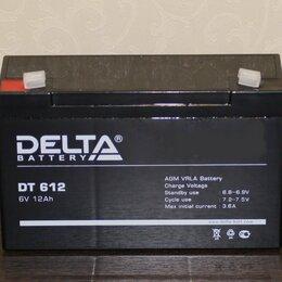 Аксессуары и запчасти - Аккумулятор для детского электромобиля DELTA 6V 12Ah, 0