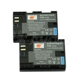 Аккумуляторы и зарядные устройства - Аккумулятор Canon Dste LP-E6 2600mAh, 0