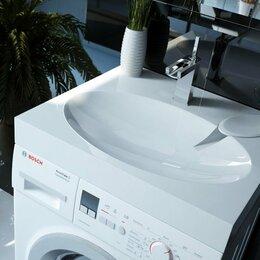 Раковины, пьедесталы - Мойка над стиральной машиной 60*55 см., 0